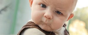 Skeptical Baby is Skeptical – Not Your Average Easily Convinced Baby (7 Pics)