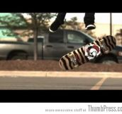 Skateboard tricks at 1000 frames per second