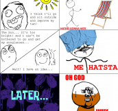 Getting a tan – Me Hatsta