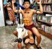 Just another day in Thailand….