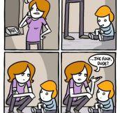 Parenting fail…