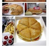 Pizza Burger – Pure F**king Genious