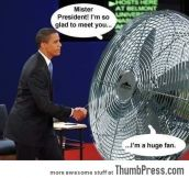 Really is a big fan