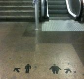 Barcelona's metro tells it like it is