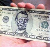 Five dollars – ME GUSTA