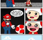 Sorry Mario…