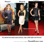 Apple's iPhone is like Emma Watson.