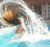 Hair flip lvl- Master.