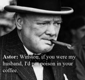 Trolling Churchill