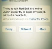 Felix Baumgartner = Hero