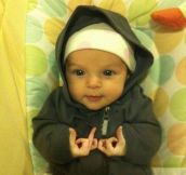 Gangster Baby Girl