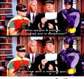Batman you're a Genius