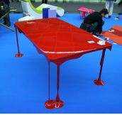 Bloody brilliant table design!