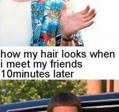 Oh my hair