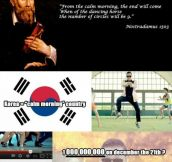 Prophecy of PSY