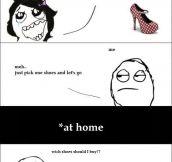 Shopping male vs women