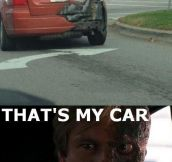 That's my car