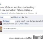 Why can't life be as simple as the Lion King?