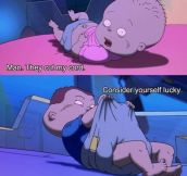 Adult jokes in kids cartoons
