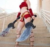 Female Kratos!