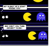 Pac-Man is actually horrifying