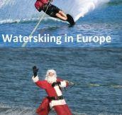 Waterskiing over the world
