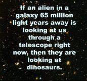 65 MILLION LIGHT YEARS AWAY.