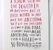 BASICALLY IT'S A CARD.