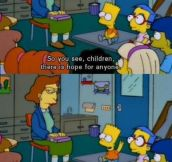 Oh, Bart…