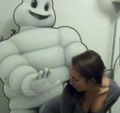 Oh you silly Michelin Man