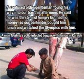 RESTORE YOUR FAITH IN HUMANITY.