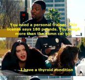 Stop eating Thyroid!