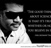 The best thing about science…