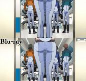 The different between DVD and Blu-ray