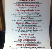 UNNATURAL LAWS.