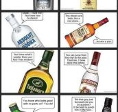 WHEN ALCOHOL TALKS.