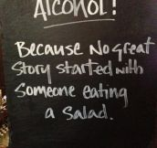 Best sign ever hung in a pub