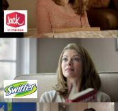Do you notice this woman in the commercials?