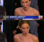 Jennifer Lawrence, the Best Actress Oscar!
