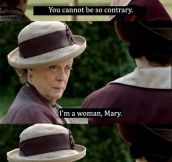Maggie Smith finally said it out loud
