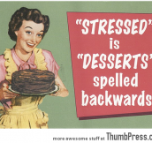Stressed:Desserts