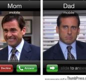 When Mom Calls vs When Dad Calls
