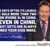 Conan on Chinese iPhone Release