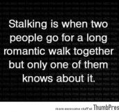 Definition of Stalking