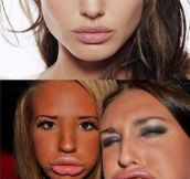 Duck face look – Expectations vs. Reality
