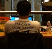 How to spot a pharmacy student