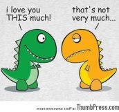 I LOVE YOU THIS MUCH…
