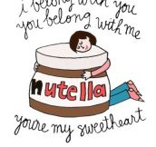 LOVE LETTERS TO NUTELLA.