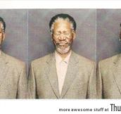 Morgan Freeman making awesome faces