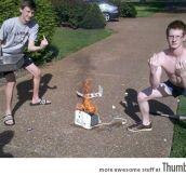 These toaster burning badasses